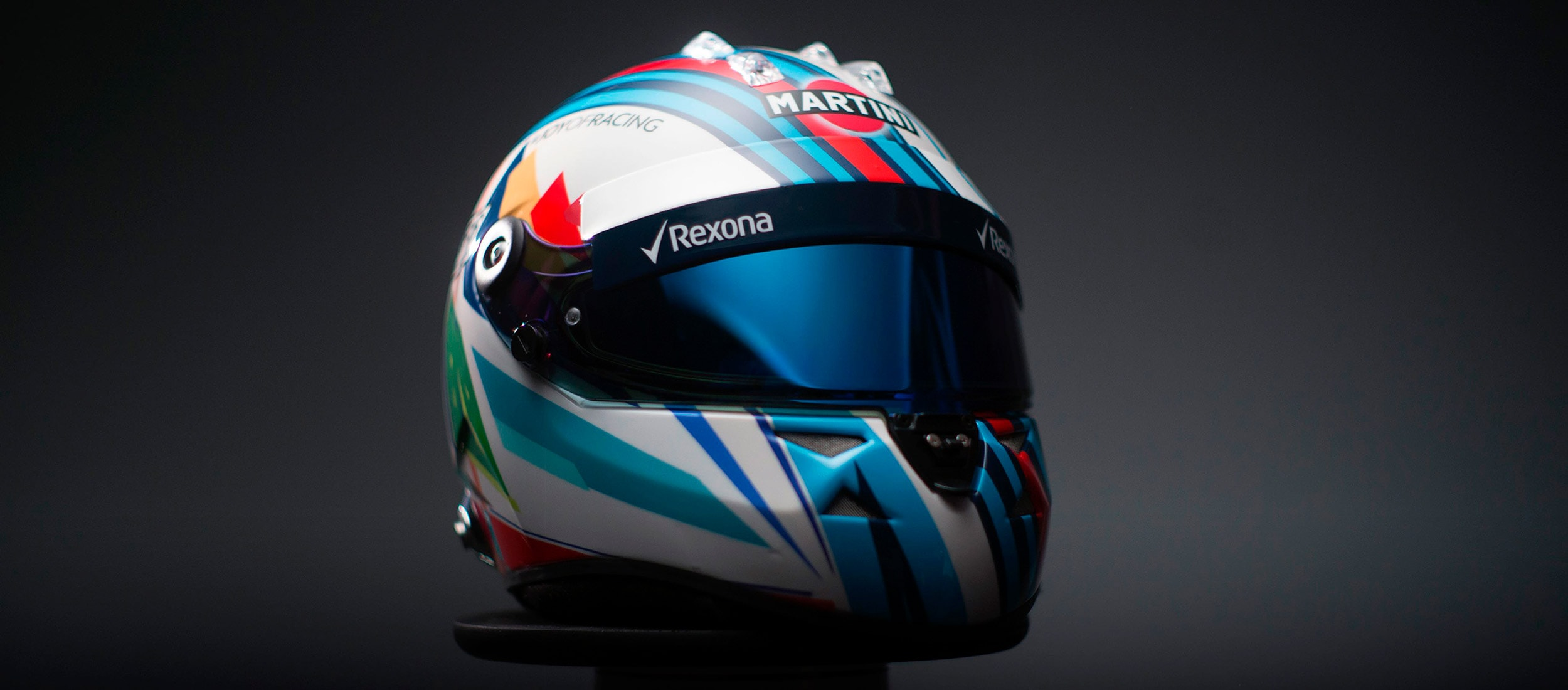 Felipe Massa Helmet - Ink and Movement - Kenor