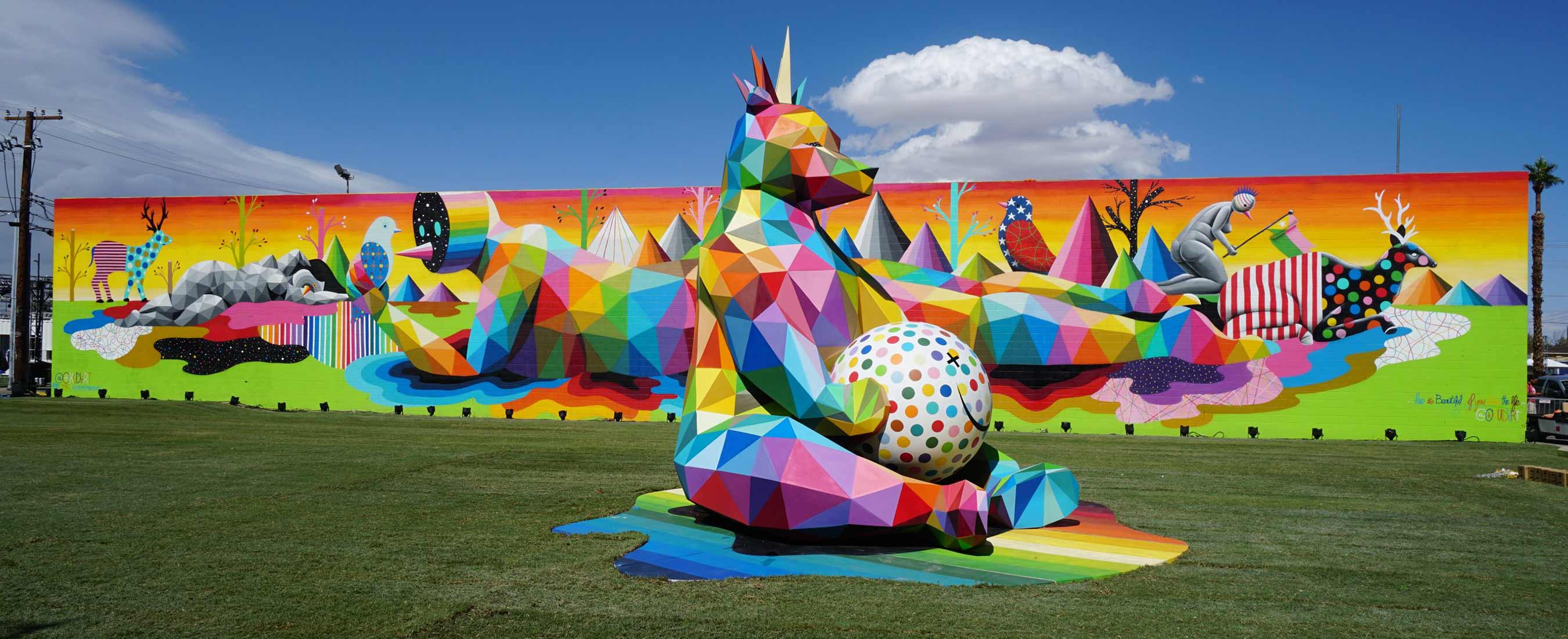 Life is Beautiful -- Okuda San Miguel -- Ink and Movement