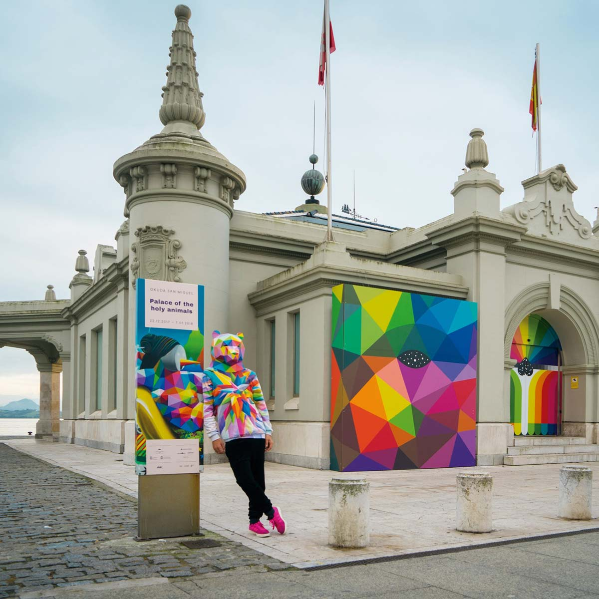 Exhibition Palace of the Holy Animals -- Okuda San Miguel -- Ink and Movement