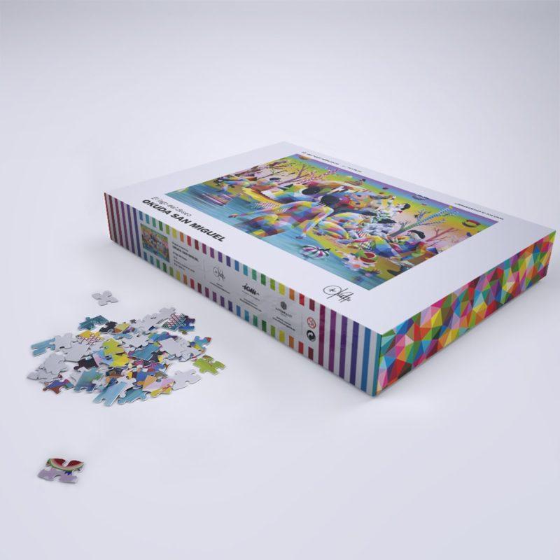 Okuda San Miguel Puzzle El lago del deseo shop comprar